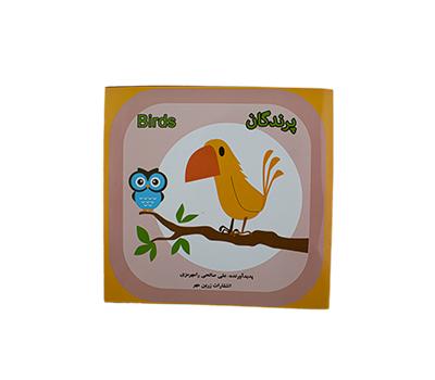 کتاب رنگ آمیزی طرح پرندگان هیلا