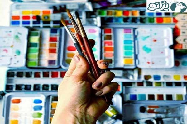 خرید آنلاین انواع ابزار نقاشی