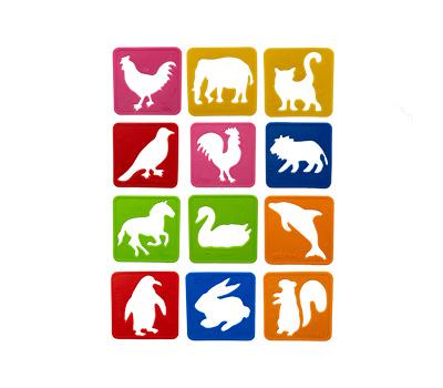 شابلون 24 عددی حیوانات سلفونی صریر