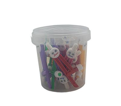 پرگار 24 عددی سطلی پلاستیکی صریر