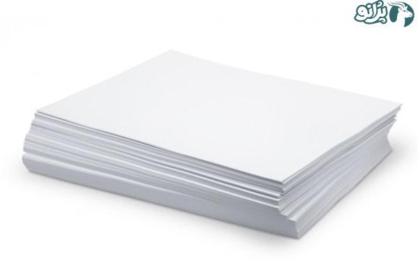 انواع کاغذ و برگه
