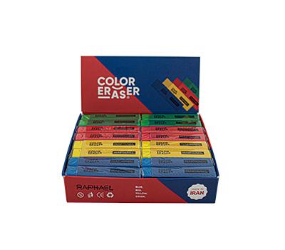 پاکن رنگی 32عددی جعبه مقوایی مدل C02 رافائل