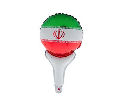 بادکنک زرورقی طرح پرچم ایران هدهدک